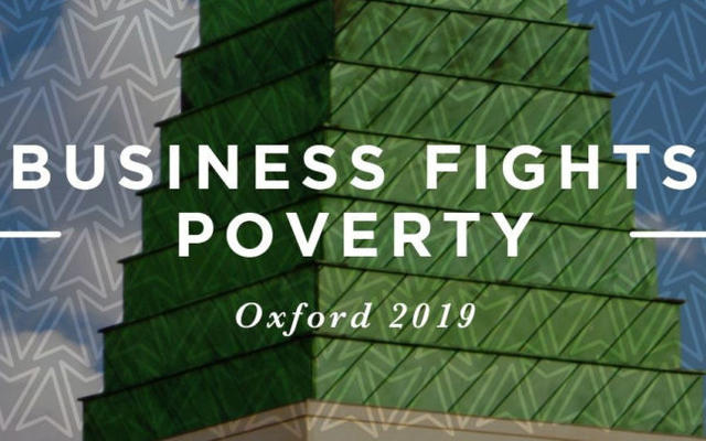 business fights poverty, Oxford 2019