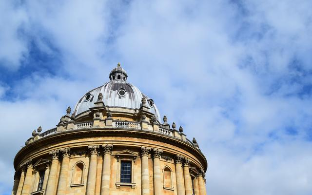 Radcliffe Camera and blue sky