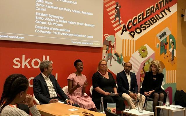 Gender panel