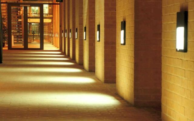 Said business school corridor