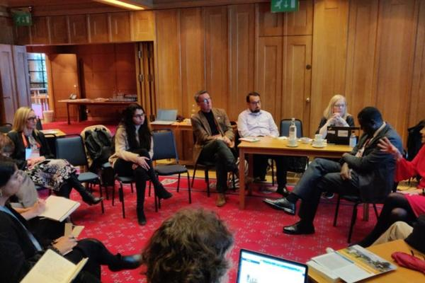 accelerating global health discussion group