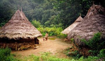 Kogui Arhuaco Indigenous Reserve in the Sierra Nevada of Colombia